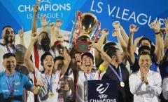 Vô địch V-League 2020, Viettel nhận thưởng tiền tỷ