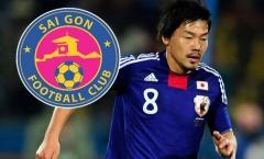 Sài Gòn FC tậu cựu sao ĐT Nhật Bản, từng tham dự World Cup 2010