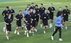 'Đột nhập' sân tập Croatia trước chung kết World Cup