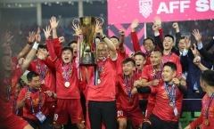 HLV Park Hang Seo nhận giải 'Nhân vật tiêu biểu châu Á 2018'