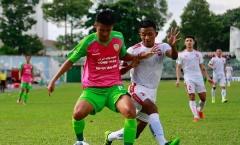 CLB Hải Phòng bị loại khỏi cúp quốc gia sau trận thua đội hạng Nhất