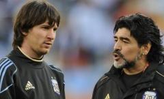 Giấc mơ kỳ lạ về Maradona thay đổi Messi