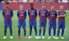 Các sao Barca phải tập chung với đội B