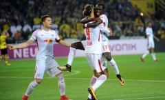 Aubameyang lập cú đúp, Dortmund vẫn thua sốc RB Leipzig
