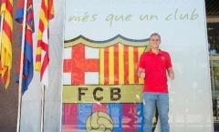 Barca chính thức đón tân binh từ Ajax