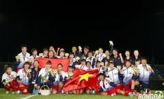 Giành huy chương vàng, ĐT bóng đá nữ Việt Nam nhận thưởng tiền tỷ