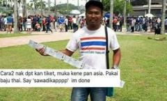 CĐV Malaysia giả mạo người Thái Lan để mua vé chung kết