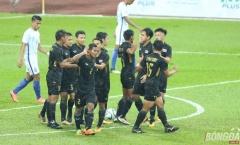 """Thủ môn """"đốt lưới"""", U22 Malaysia mất HCV vào tay người Thái"""