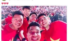 Tuyển thủ U23 'đại náo' mạng xã hội sau gala vinh danh ở TP.HCM
