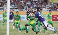 Hà Nội FC nâng cao Cup vô địch sau khi đánh bại Cần Thơ