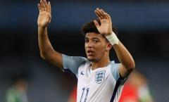 Jadon Sancho – Viên ngọc mới của bóng đá Anh