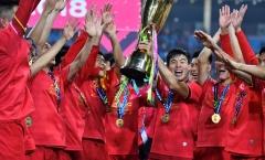 Hàng thể thao ở Hàn Quốc bán chạy nhờ tuyển Việt Nam