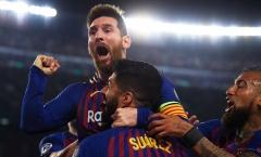 Ngày Liverpool gục ngã trước Messi