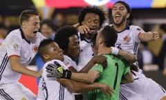 Colombia vào bán kết Copa America sau loạt sút đấu súng