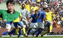 Còi vàng Dương Mạnh Hùng: 95% trọng tài V-League sẽ thổi phạt đền Italia
