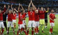 Xứ Wales xát muối vào nỗi đau của người Anh