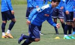 Công Phượng khẳng định sẵn sàng ra sân thi đấu với Mito Hollyhock