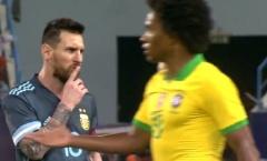 Thiago Silva: 'Messi lúc nào cũng giở cái thói này trước trọng tài'