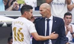 Hóa ra, James chỉ là 'nạn nhân' trong kế hoạch vĩ đại của Zidane
