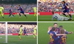 Dùng thiên lý nhãn, Messi 'hồi sinh' mối liên kết với Griezmann