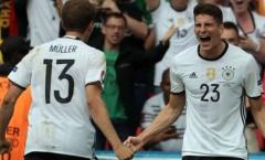 Đức cần nhiều hơn những tiền đạo như Gomez