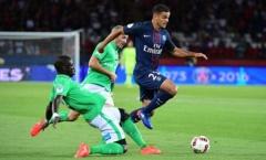 PSG hòa đau phút cuối trước Saint-Etienne