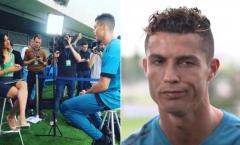 Ronaldo bĩu môi khi được hỏi về Salah