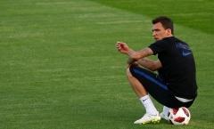 Mario Mandzukic điềm tĩnh trước tin đồn đến Man Utd