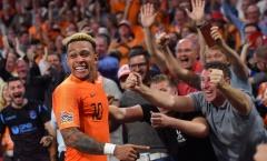 Choáng với số bàn thắng trung bình mỗi trận của Hà Lan trong năm 2019