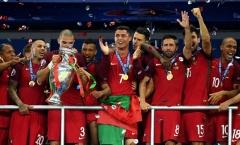 Vô địch EURO, Bồ Đào Nha sẽ đối đầu Chile