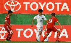 'Messi Nhật Bản' bị U16 Bình Dương 'bắt chết' trên sân Gò Đậu