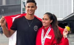 'Hotboy' tuyển Singapore hy vọng có thể cùng bạn gái giành huy chương SEA Games