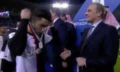 Khán giả phẫn nộ vì hành vi phi thể thao của Ronaldo sau trận thua Lazio