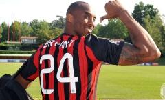 Bất chấp luật cấm, Milan vẫn mang băng đen để tưởng nhớ Kobe Bryant