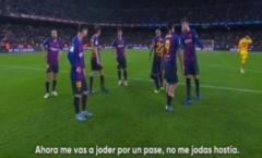 Biến căng! thua Betis, Suarez 'chửi thẳng mặt' Pique
