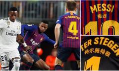 Barca bị cấm mặc áo đấu Trung Quốc ở El Clasico