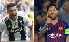 Ai là cầu thủ được trả lương cao nhất Châu Âu, Ronaldo hay Messi?