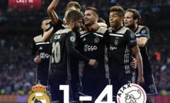 Kinh hoàng! Real Madrid và 8 thống kê không thể tin nổi sau trận thua Ajax