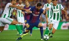 Không ổn ngày Messi trở lại, Barca thua bẽ bàng trên sân nhà