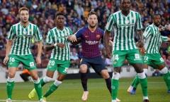 Chấm điểm Barca sau trận Real Betis: Thảm họa Rakitic, Messi vẫn số 1