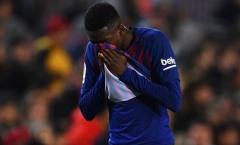 'Bom tấn' bật khóc ngày Barca giành chiến thắng nhọc