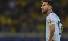 Cô đơn ám ảnh, đến bao giờ vinh quang với Argentina đây Messi!