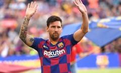 Báo TBN xác nhận tin bất ngờ về tương lai Messi ở Barcelona