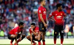 10 điều thú vị về đội hình Manchester United