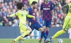 Messi vẫn khác biệt, Barca chật vật giành 3 điểm trước đội bóng chiếu dưới