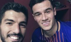 Suarez khen Coutinho nức nở trong ngày ra mắt Barca