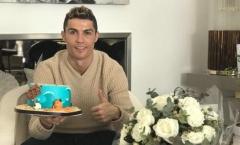 Sau scandal ngoại tình, Ronaldo mừng sinh nhật cô đơn?