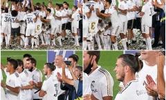 Ăn mừng 'lấy lệ', Bale tiếp tục bị Zidane trục xuất khỏi đội hình