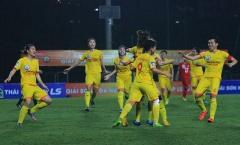 Xác định ngôi vương của Giải bóng đá nữ Cúp Quốc gia 2019