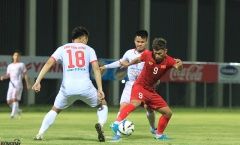 U22 Việt Nam đánh bại CLB Viettelsau 3 hiệp đấu